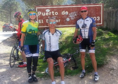 Cycling Puerto del Bogar, Andalucia - Los Olivos Cycling & Triathlon Training Camp, Spain