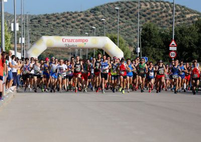 Asparagus run, Huetor Tajar, Granada - Los Olivos Cycling & Triathlon Training Camp, Spain