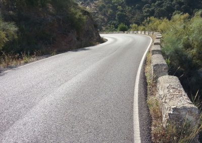 Typical road - Cycling road, Los Olivos Cycling & Triathlon Training Camp, Spain