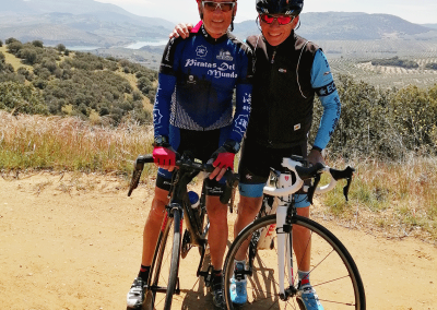 Road cycling through Montillana with Marcel Cocci - Los Olivos Cycling & Triathlon Training Camp, Andalucia, Spain