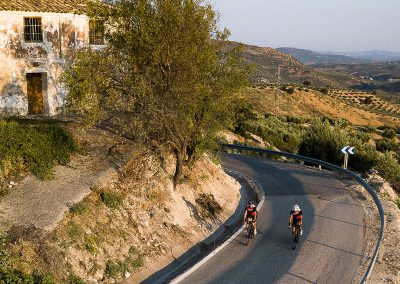 Perfect bike ride - Los Olivos Cycling & Triathlon Training Camp, Andalucia, Spain